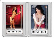 Hitomi Tanaka rare MH Bright Leaf #'d 2/3 Tobacco card no. 456