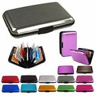 Women Men Waterproof ID Credit Card Wallet Holder Aluminum Metal Pocket Case US