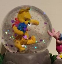 More details for £90 winnie the pooh and friends disney snow globe ornament toy collectable