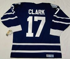 WENDEL CLARK size MEDIUM - Toronto Maple Leafs CCM 550 - 1992-1997 Hockey Jersey