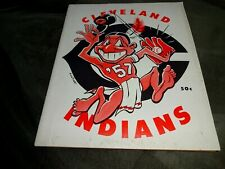 Original 1957 Cleveland Indians Baseball Yearbook- Roger Maris Rookie Year. Fair