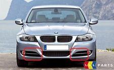 BMW NEW E90 E91 LCI FRONT BUMPER FOG LIGHT GRILLE WITH ALUMINIUM FINISHER SET
