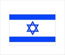 Israeli Flag Sticker Decal of jewish jew pro israel Hard Hat Car 3M Graphic