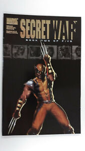 SECRET WAR #2  1st Printing - Quake                         / 2004 Marvel Comics
