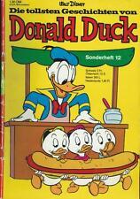 Die tollsten Geschichten von Donald Duck Sonderheft 12 (Z2-), Ehapa