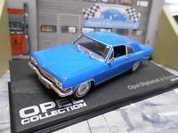 OPEL Diplomat A Coupe V8 1965 - 1967 blau blue IXO altaya Sonderpreis 1:43