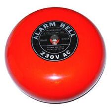 Fire Alarm Bell Feuererlarm Glocke Sirene 20 cm 97dB 230V AC ∅ 200 mm