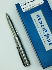* NEW BENCHMADE 1100-4 TACTICAL PEN STAINLESS STEEL BODY WITH BLACK INK
