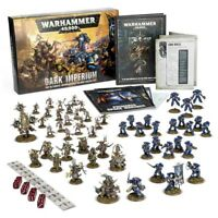 WARHAMMER 40000 DARK IMPERIUM STARTER SET Game with Space Marines & Death Guard