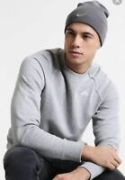 NIKE METAL SWOOSH SOFT LIGHT STRETCH KNITTED BEANIE WINTER HAT