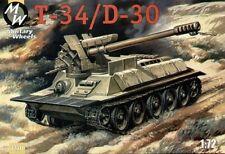Military Wheels MW7220 - 1:72 T-34/D-30 - New