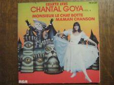 CHANTAL GOYA LIVRE DIQUE FRANCE EP MAMAN CHANSON