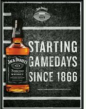 Jack daniels gameday poster 18 by 26