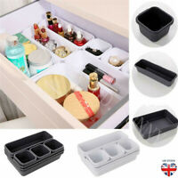 8x Organisateur Stockage Boîte Tiroir Maquillage Pot Stockage Couverture Bijoux