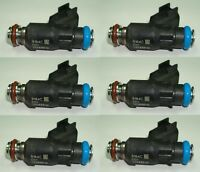 Set of 6 Herko Fuel Injector 12588610 For Chevy Pontiac Buick Saturn 3.5L 3.9L