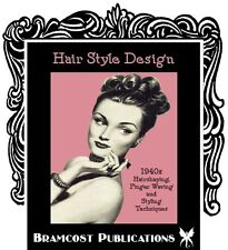 1940s Hairstyle Book by Newberry (Vintage Hairstyling)