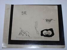 "1960's-1970's Hasbro Gijoe 12"" Prototype Internal Line Art Photograph Artwork #1"