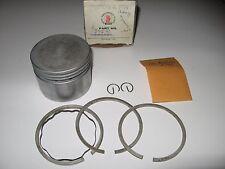 Tecumseh engine # 34541 piston kit w/ rings .010''' over,  wrist pin 2 clips nos