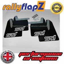 Impreza WRX / STI Mud Flaps Mudflaps 01-07 Bugeye Blobeye Hawkeye - BLACK (SW)