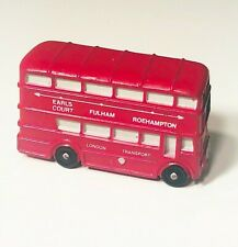 London Transport Red Double Decker Bus Vintage 1994 Yarto Car Toy Collectible