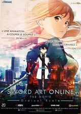 Affiche Pliée 120x160cm SWORD ART ONLINE MOVIE 2017 Tomohiko Itō Animation NEUVE