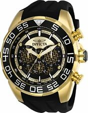 Invicta Men's 'Speedway' Quartz Stainless Steel and Silicone Casual Watch 26301