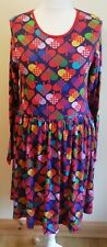 Dun Sweden Ladies 100% Organic Cotton Dress New With Tags Size 16-18 EU42/44