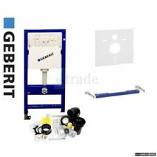 GEBERIT DUOFIX BASIC Wall Hung WC Toilet Frame UP100 DELTA Cistern +Brackets+Mat