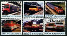 ANGOLA - 2000 'TRAINS' Set of 6 CTO [A8477]