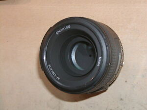 Nikon Nikkor AF-S 50mm f1.8 G lens in excellent condition