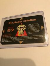 Die Junger Cthulhu : Illuminati German Inwo Ccg 1996 card, Key Super Rare, magic