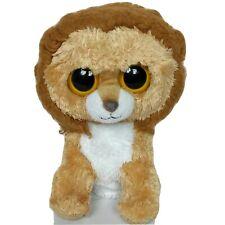 """Ty Beanie Boo King The Lion Mane Brown Plush 2011 9"""""""