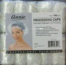 "ANNIE PROCESSING DISPOSABLE VINYL CLEAR CAP 100 PCS EXTRA LARGE SIZE OF 21"" DIA"