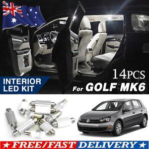 For Volkswagen VW Golf 6 MK6 GTI LED Interior Map Dome Trunk Light Kit Lighting