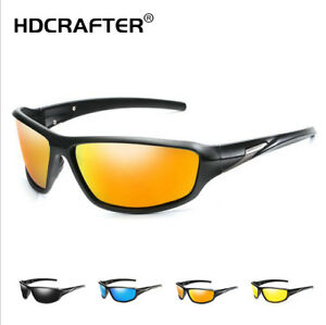 Men Polarized Sports Sunglasses Ourdoor Driving Cycling Riding Glasses New 2020