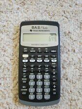 Texas Instruments BA-II Plus Financial Calculator New NO BOX