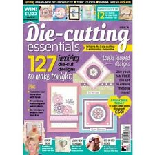 DIE-CUTTING ESSENTIALS ISSUE 24 MAGAZINE WITH FREE 6 PIECE NESTING DIES SET