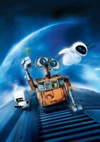 WALL-E Movie PHOTO Print POSTER Textless Film Art Andrew Stanton Animation 002