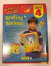 Reading Safari Learning Module reading workout set 4  Educational Insights