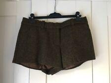 Max Studio Lana Spessa Inverno Pantaloni corti UK10-12 * indossata una volta * costo £ 150