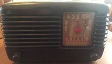 Stunning Rare Philco 45-200 Transistone Deco Bakelite Radio, US Import, Working