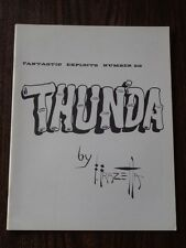 FANTASTIC EXPLOITS #20 THUNDA BY FRAZETTA MAGAZINE FANZINE^