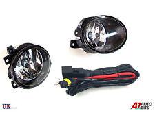 VW T5 TRANSPORTER 2009 ONWARDS FOG LIGHT LAMPS PAIR RIGHT + LEFT & WIRING KIT