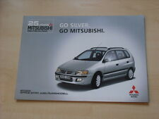 52543) Mitsubishi Space Wagon Silver Prospekt 02/2002