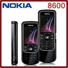 ORIGINAL Nokia 8600 Luna Black 100% UNLOCKED GSM Cellular Phone EN Warranty FREE