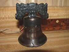 "Vintage Pass And Stow Replica Liberty Bell Bronze/Brass 3 1/3"" *Vgc*"