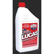 Lucas 10054 Motor Oil Synthetic 20W50 Quart, 6-Pack