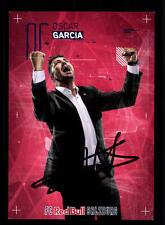 Oscar Garcia Autogrammkarte Red Bull Salzburg 2016-17 Original Signier+ A 137601