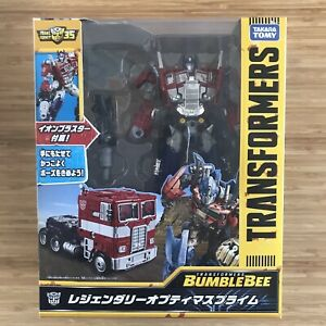Transformers Legendary Optimus Prime Leader Takara Tomy Bumblebee Movie Convoy