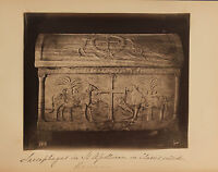 Italia San - Apollinaire IN Classe Ravenna Sarcofago Vintage Albumina Ca 1880
